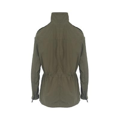 pocket detail field jacket khaki